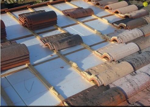 Tejados teja reparacion tejados for Tejados de madera con teja