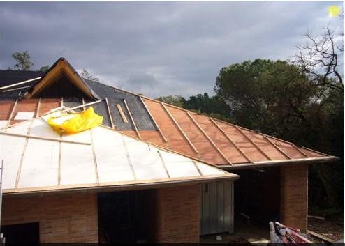 cubiertas tejados madera termico